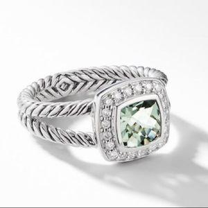 David Yurman Petite Albion Ring in Prasiolite